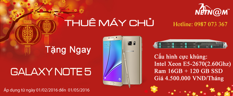 thue server tang note 5